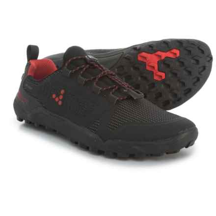 VivoBarefoot Trail Freak Trail Running Shoes (For Women) in Black/Red - Closeouts
