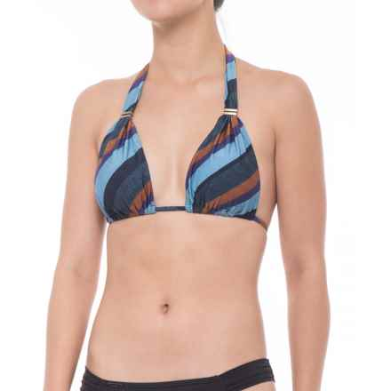 Vix Chambray Bia Bikini Top (For Women) in Multi - Closeouts