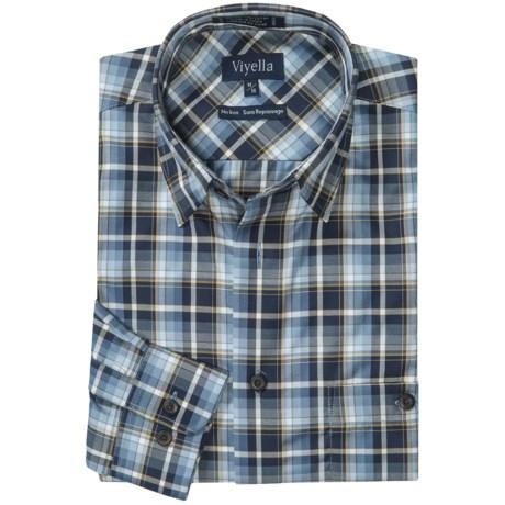 Viyella cotton no iron sport shirt for men save 49 for No iron cotton shirts