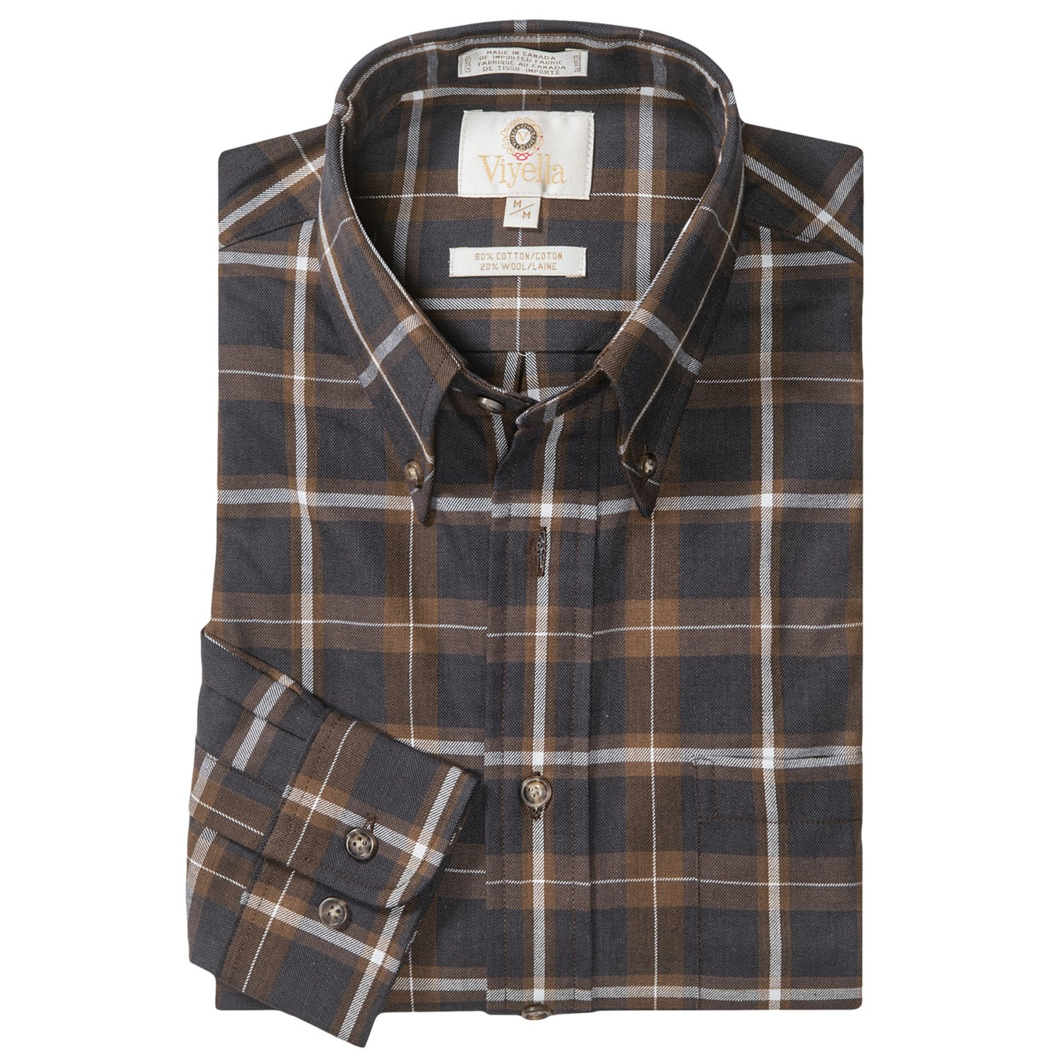 English Wool Sport Shirts For Men 15