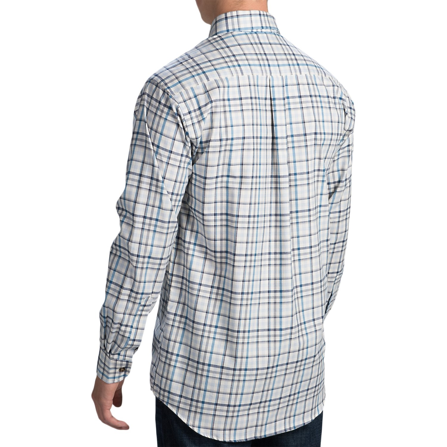 English Wool Sport Shirts For Men 35
