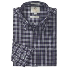 Viyella Multi-Check Sport Shirt - Hidden Button-Down Collar, Long Sleeve (For Men) in Grape - Closeouts
