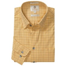 Viyella Multi-Check Sport Shirt - Hidden Button-Down Collar, Long Sleeve (For Men) in Sunshine - Closeouts