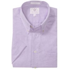 Viyella Solid Shirt - Button-Down Collar, Short Sleeve (For Men) in Lilac - Closeouts