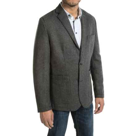 Viyella Unconstructed Blazer - Wool Blend (For Men) in Black - Closeouts