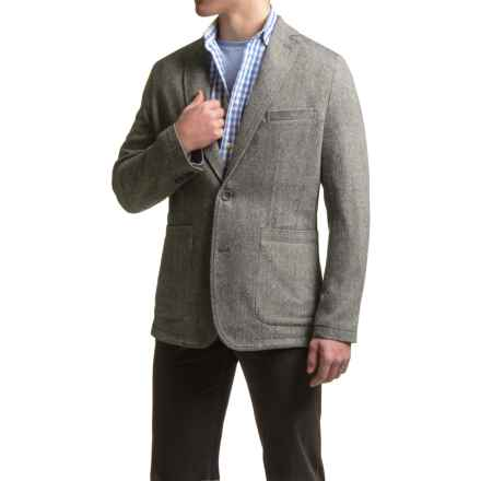 Viyella Unconstructed Blazer - Wool Blend (For Men) in Grey - Closeouts