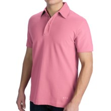 VK Nagrani Polo Classico Shirt - Combed Cotton, Short Sleeve (For Men) in Pink - Closeouts