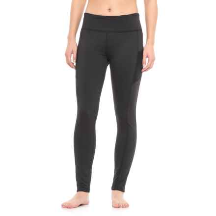 Vogo Brushed Leggings (For Women) in Black - Closeouts