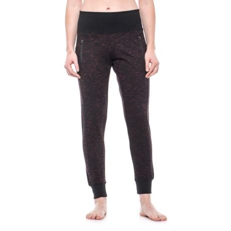 Vogo High-Waist Zip-Pocket Joggers (For Women)