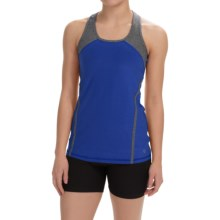 Vogo Racerback Tank Top (For Women) in Electric Blue - Closeouts