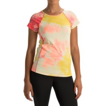 Vogo Tie-Dye T-shirt - Short Sleeve (For Women) in Tropical - Closeouts