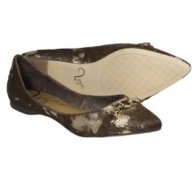 Vogue Hot to Trot Shoes - Flats (For Women) in Choco Splatter - Closeouts