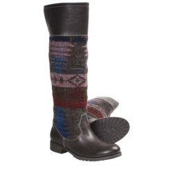 Vogue Take the Rein Knee-High Boots (For Women) in Dark Brown