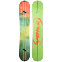 Voile Artisan Splitboard Snowboard (For Women) in Green - Closeouts