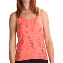 Volcom Moclov Hi-Low Twist Tank Top (For Women) in Coral Sorbet - Closeouts