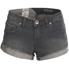 Volcom On the Road Tom Girl Shorts (For Women) in Aspalit Grey - Closeouts