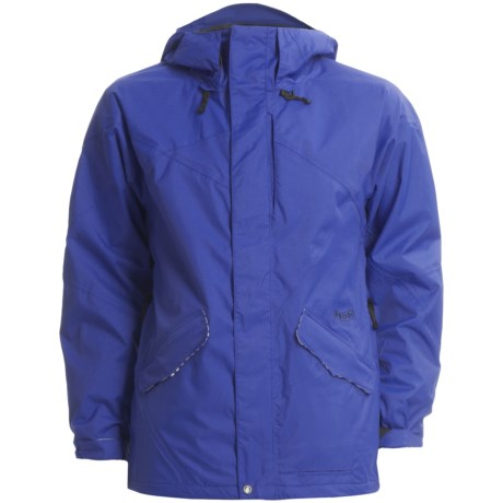 Volcom Shaper Snowboard Jacket - Waterproof (For Men) in Strobe Blue
