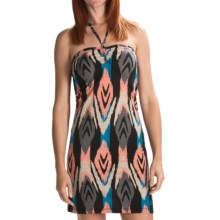 Volcom V.Co Lives Dress - Recycled Materials (For Women) in Black Combo - Closeouts