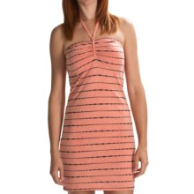Volcom V.Co Lives Dress - Recycled Materials (For Women) in Coral Haze - Closeouts