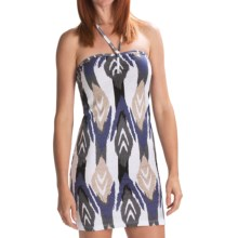 Volcom V.Co Lives Dress - Recycled Materials (For Women) in Sand Brown - Closeouts