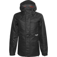 Volcom Vision TDS Down Snowboard Jacket - Waterproof, 600 Fill Power (For Women) in Black - Closeouts