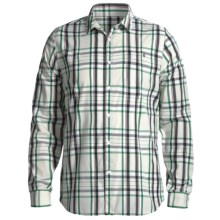Volcom X Factor Plaid Shirt - Long Sleeve (For Men) in Yellow - Closeouts