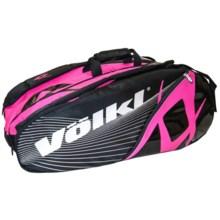 Volkl Combi Tennis Bag in Black/Neon Pink - Closeouts