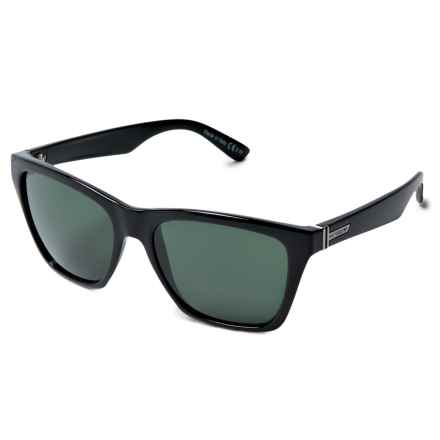 Von Zipper Booker Sunglasses in Black/Vintage Grey - Overstock
