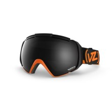 Von Zipper El Kabong CIF Frostbyte Snowsport Goggles - Interchangeable Lens in Tangerine/Black Chrome - Closeouts