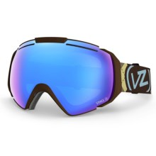 Von Zipper El Kabong Snowsport Goggle in Gnarr-Gyle/Sky Chrome - Closeouts