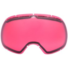 Von Zipper Fishbowl Replacement Lens in Rose - Closeouts