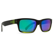 Von Zipper Fulton Sunglasses in Black Lime/Quasar Glo - Closeouts