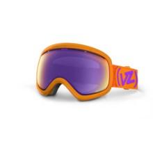 Von Zipper Skylab Snowsport Goggles - SpaceGlaze Edition in Tangerine/Meteor Chrome - Closeouts