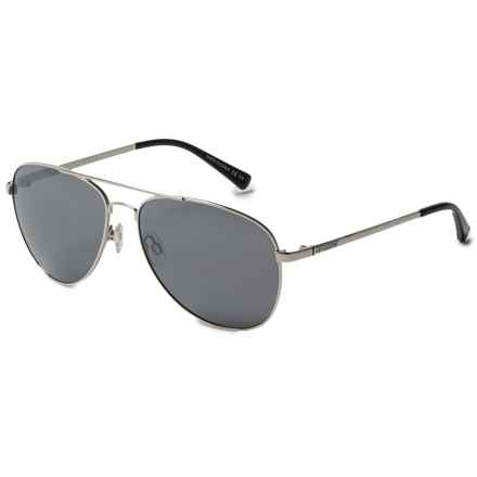 VonZipper Farva Sunglasses in Silver/Grey Chrome - Overstock