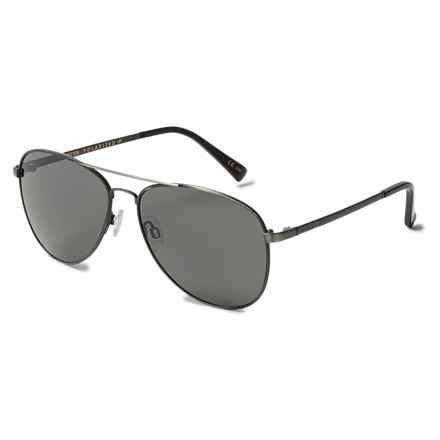 VonZipper Farva Sunglasses - Polarized in Charcoal/Grey - Overstock