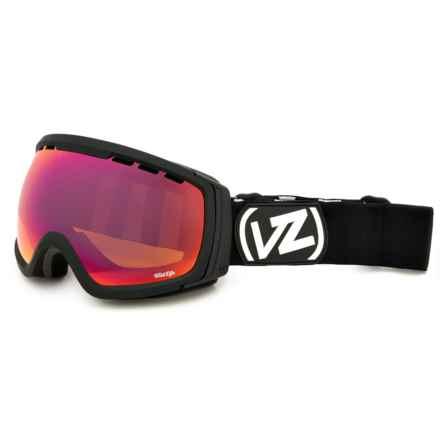 VonZipper Feenom Ski Goggles in Black Satin/Wildlife - Closeouts