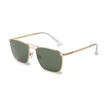 VonZipper League Sunglasses in Gold/Vintage Grey - Overstock
