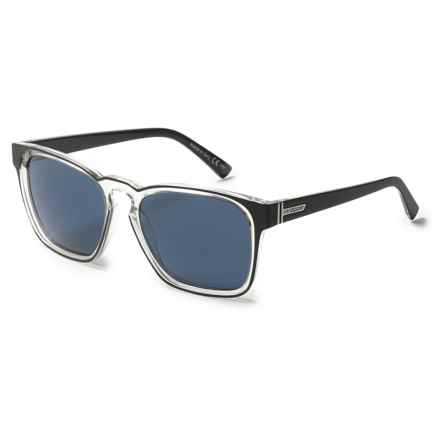 VonZipper Levee Sunglasses in Black Crystal/Navy - Overstock