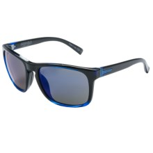 VonZipper Lomax Sunglasses in Black Blue/Astro Glo - Closeouts