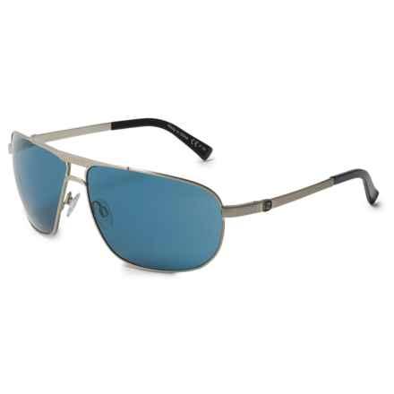VonZipper Skitch Sunglasses in Silver Satin/Navy - Overstock