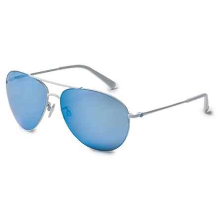 VonZipper Wingding Sunglasses (For Women) in White Gloss/Sky Chrome - Overstock