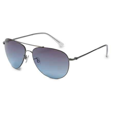 VonZipper Wingding Sunglasses in Gunmetal Gloss/Grey Blue - Overstock