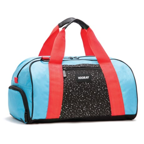 Vooray Burner Gym Duffel Bag in Turquoise