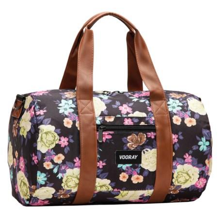 Vooray Roadie Duffel Bag in Macana Black