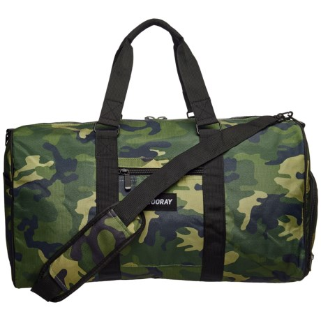 Vooray Trepic 43L Duffel Bag in Green Camo