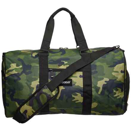 Vooray Trepic Duffel Bag in Green Camo - Closeouts