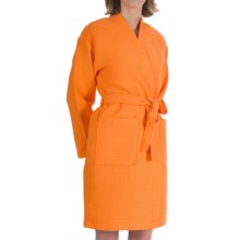 Vossen Rom Bathrobe - Long Sleeve (For Women) in Nectarine - Closeouts