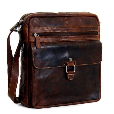 Voyager Large Crossbody Bag - Buffalo Leather