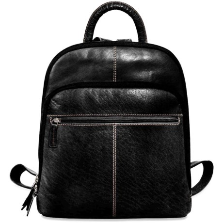 Voyager Small Backpack - Buffalo Leather (For Women)