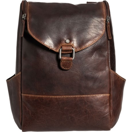 Voyager Small Convertible Backpack-Crossbody Bag - Buffalo Leather (For Women)